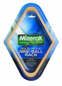 Mizerak Solid Wood Nine-Ball Billiard Rack