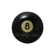 2-0.6cm Eight-Ball Replacement Pool Ball