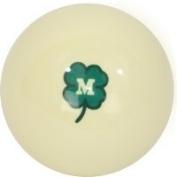 McDermott Green Clover Billiard Cue Ball