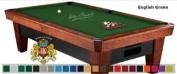 7' Simonis 860 English Green Pool Table Cloth Felt