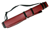 3x6 Hard Pool Cue Billiard Stick Carrying Case, Red