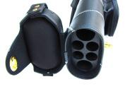 2x4 Hard Pool Cue Stick Carrying Case Black White 2 X 4