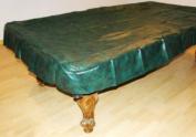 2.4m Heavy Duty Pool Table Billiard Cover, Green