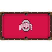 8' Ohio State Pool Table Cloth by Covers by HBS