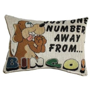 One Number Away Throw Pillow