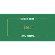 Trademark Poker Texas Holdem Layout, 90cm x 180cm