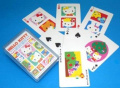 Hello Kitty plastic playing cards