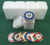 5 Casino Chip Tubes Collector Chip Storage Las Vegas 39 & 41 mm Chips Fit NEW