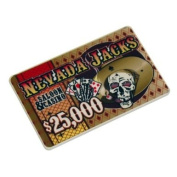 Nevada Jacks Casino Ceramic Poker Chip Plaque - Choose!