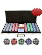 500pc 11.5g Casino Ace Poker Chips Set
