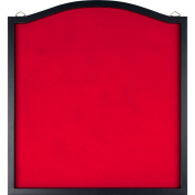 TG Dart Backboard With Solid Wood Frame and Red Felt