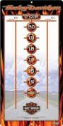 Dart World Harley Davidson Dry Erase Colour Scoreboard #61922