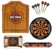 Harley-Davidson® 61995 Bar and Shield Dartboard Cabinet Kit