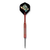 Bottelsen Hammer Head Steel Tip 90% Tungsten Convertible Skinny Tough Koat 0.6cm Diameter Coarse Knurl Dart, 20 Gramme, Red