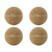 4 Cork Foosballs