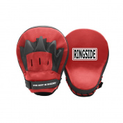 Ringside Curved Focus Punch Mitts, Red