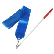 4m Dance Ribbon Wand Gym Rhythmic Art Gymnastic Ballet Streamer Twirling Rod Blue