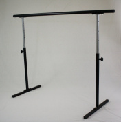 Softtouch Ballet Barre 137.2cm Portable Bar Long Very Sturdy Adjustable 78.7cm - 124.5cm Freestanding Stretch