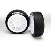 Traxxas 7372R Tyre (Soft) and Wheel Assembled (2)