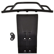 Front Bumper and Skid Plate, Black
