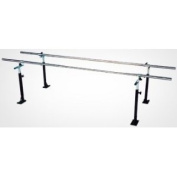Armedica AM-712 Floor Mounted 10' Parallel Bars w/ Stainless Steel Rails