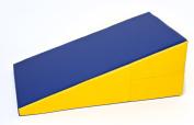 Non Fold Incline 58.4cm X 94cm X 35.6cm Gymnastics Skill Shape Exercise Mat New