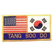 USA and Korea Tang Soo Do Patch