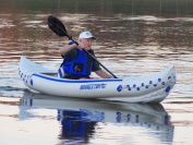 Sea Eagle 330 Pro Solo - 1 Person Inflatable Kayak Package
