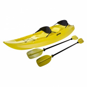 Lifetime Manta Tandem Kayak with Paddles and Backrests