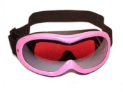 Ladies Birdz Talon Goggles Glossy Pink Frame With Rose Mirror Lens