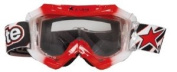 ARIETE GLAMOUR GOGGLES RED/WHITE, Manufacturer