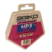 Briko-Maplus HP3 Violet High Fluorinated Ski and Snowboard Solid Wax