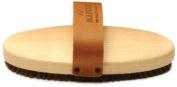 Briko-Maplus Hard Horsehair Oval Ski and Snowboard Brush