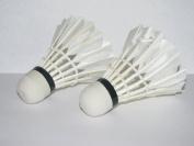 LED Light-Up Badminton Birdies (Set of 2) Shuttlecocks Shuttlecock Feather Badmiton