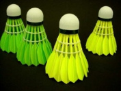 Genji Sports Yellow Goose Feather Shuttlecock