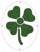 Tourna Fun Lucky 4 Leaf Clover Racquet Stencil