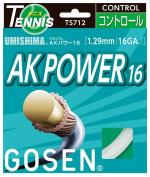 Gosen AK Power 16G Tennis String White
