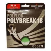 Gosen Polybreak Tennis Strings 18g 1.20mm White