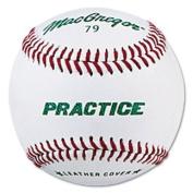 MacGregor MCB79PXX MacGregor #79P Leather Practice Baseball