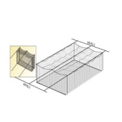 Wall-To-Wall Cage Net Suspension Kit