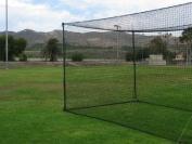 Ultimate 20' Baseball Batting Cage [Net & Poles Package] - #42 Heavy Duty Net with Steel Uprights [Net World] 24hr Ship