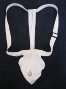 Athletic Support w/ Straps for Large and Enlarged Testicles