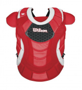 Wilson Promotion Fast Pitch Chest Protector with Isoblox, Scarlet, Intermediate