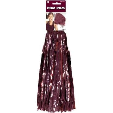 Burgundy 38.1cm Pom Pom