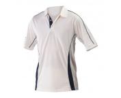 Players Cricket Shirt 2 Extra Large Maroon Trim