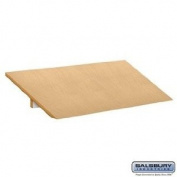 Sloping Hood - for Designer Wood Locker - 3 Wide - Maple