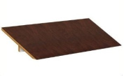 Sloping Hood - for Extra Wide Designer Wood Locker - 3 Wide - Mahogany
