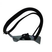 HT Enterprises Neoprene Strap/Quick Clip Ice Cleat, Black