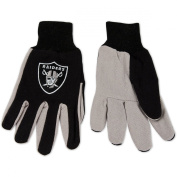 McArthur Sports Oakland Raiders Sports Utility Glove- 2 Pairs One Size Fits Most