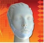Premium Regular White Chin Strap